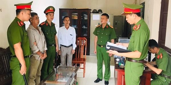 Cơ quan Công an thi hành lệnh bắt tạm giam Lưu Văn Quân