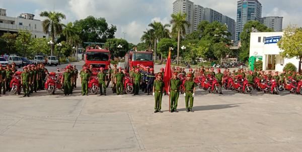 11 tổ chữa cháy tại 11 phường trên địa bàn quận Thanh Xuân là cánh tay nối dài, hiệu quả trong công tác PCCC