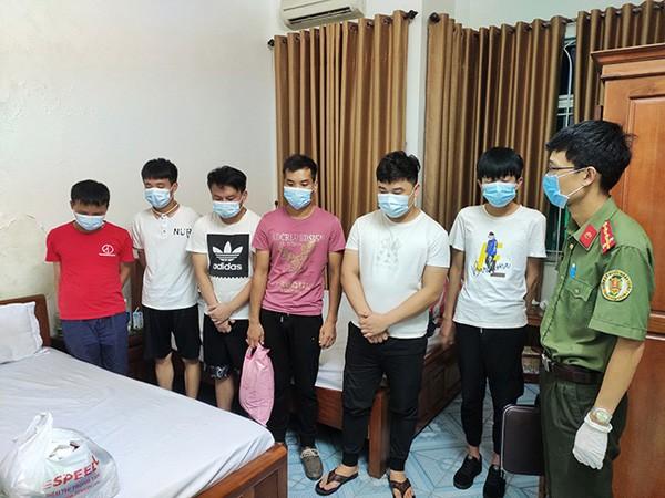 Công an tỉnh Lạng Sơn lập hồ sơ xử lý nhóm người Trung Quốc nhập cảnh trái phép