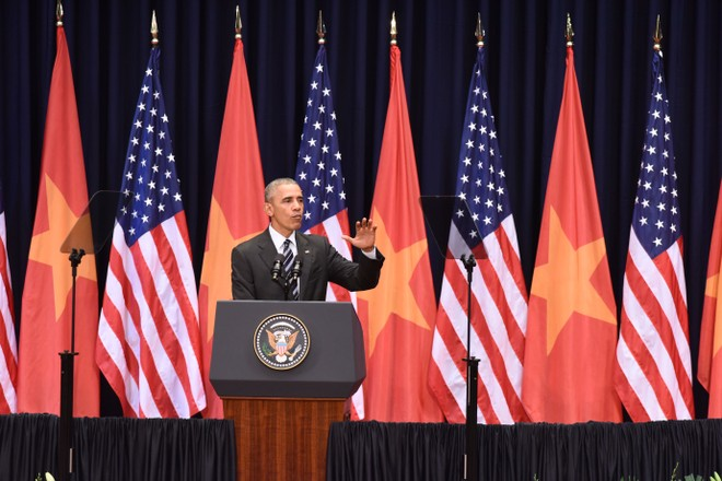 Bài phát biểu đầy ấn tượng của Tổng thống Obama tại Hà Nội