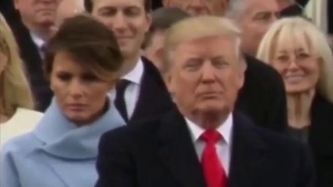 Lý giải gương mặt buồn của Đệ nhất phu nhân nước Mỹ trong lễ nhậm chức