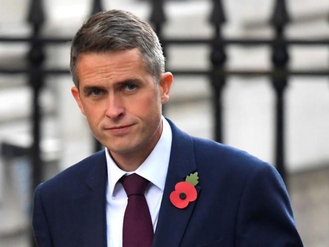 """Bộ trưởng Quốc phòng Anh Gavin Williamson cho biết, việc điều tàu khu trục sẽ """"khẳng định giá trị"""" của Anh ở Biển Đông"""