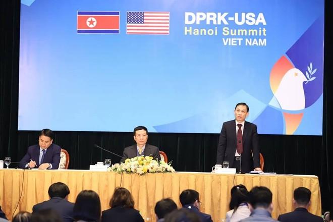 """""""Công tác chuẩn bị Hội nghị thượng đỉnh Mỹ - Triều lần thứ hai tại Hà Nội đã hoàn tất về tất cả các mặt"""" ảnh 3"""