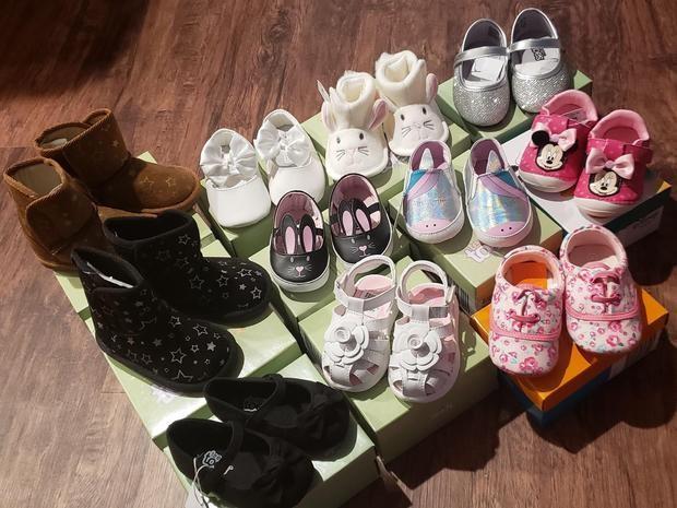 204 đôi giày trị giá khoảng 6.000 USD nhưng được Tritt khéo mua lại với giá 100 USD