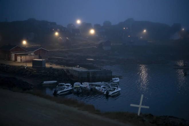Một góc Kulusuk, đảo Greenland, sớm 15-8
