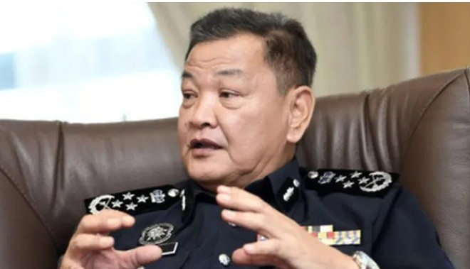 Tổng thanh tra Cảnh sát Malaysia Abdul Hamid Bador lo ngại về tình trạng lạm dụng ma túy trong lực lượng cảnh sát (ảnh: BERNAMA)