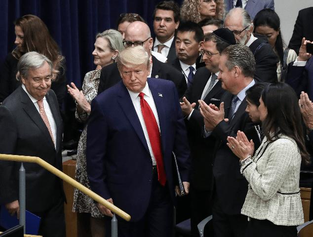 """Những câu nói """"đầy sức nặng"""" của Tổng thống Mỹ tại Đại hội đồng Liên hợp quốc"""
