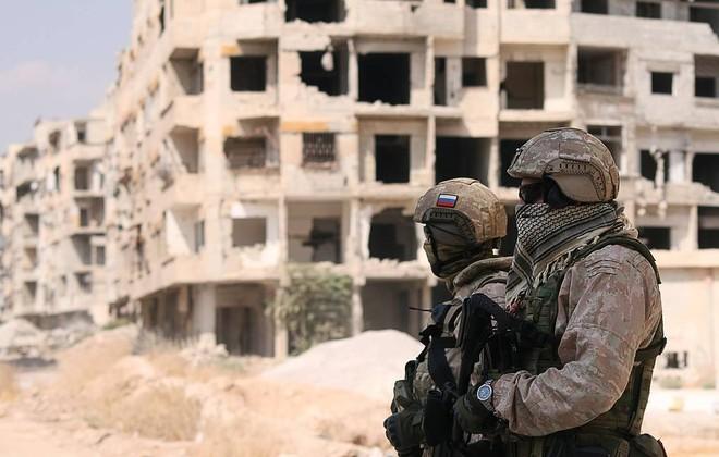 Nga điều 300 quân cảnh từ Chechnya tới Syria