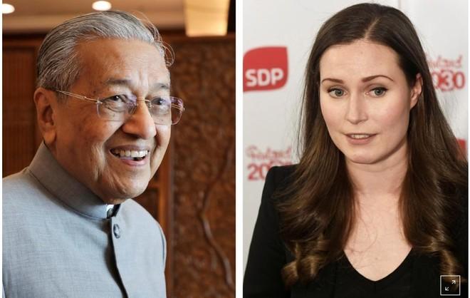 Thủ tướng cao tuổi nhất nói gì với tân Thủ tướng trẻ nhất thế giới?