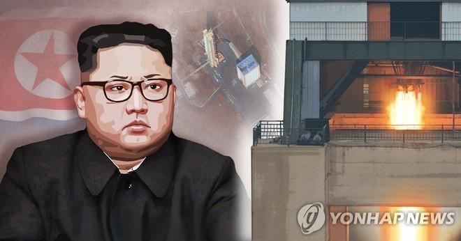 """Triều Tiên tiếp tục có """"thử nghiệm quan trọng"""" tại khu phóng tên lửa tầm xa"""