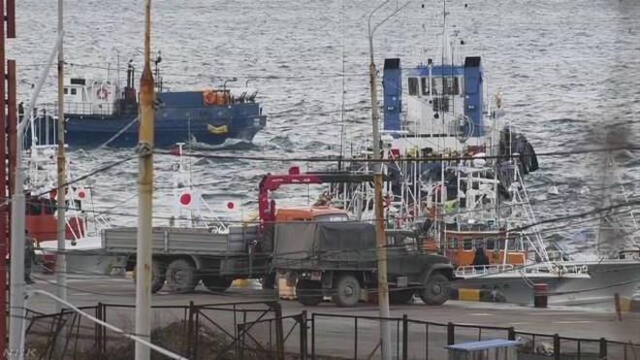 Nhật Bản yêu cầu Nga trả lại 5 tàu cá bị bắt giữ gần nhóm đảo tranh chấp