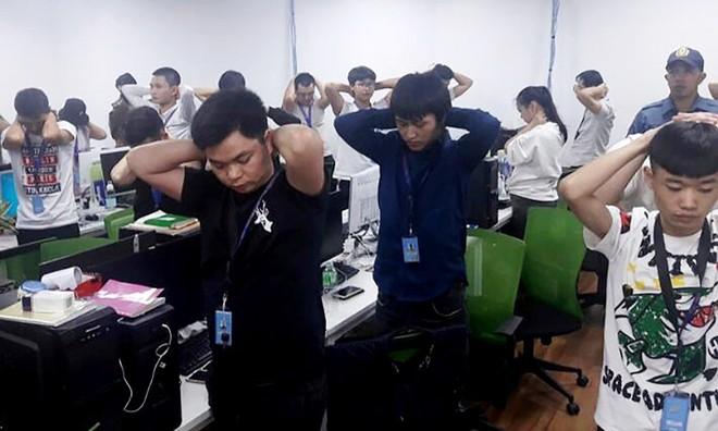 Philippines bắt ổ bạc có 342 người Trung Quốc