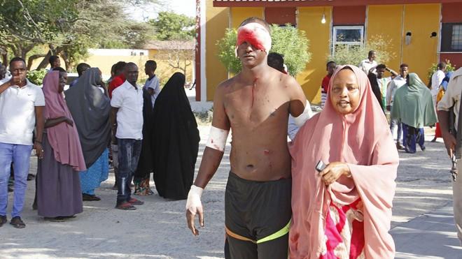 Đánh bom xe tải kinh hoàng ở thủ đô của Somalia, 61 người thiệt mạng