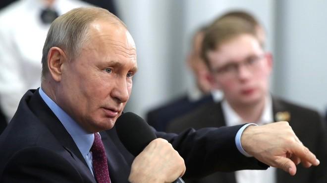 """Tổng thống Nga Putin: """"Tôi không có ý định gia hạn quyền lực"""""""
