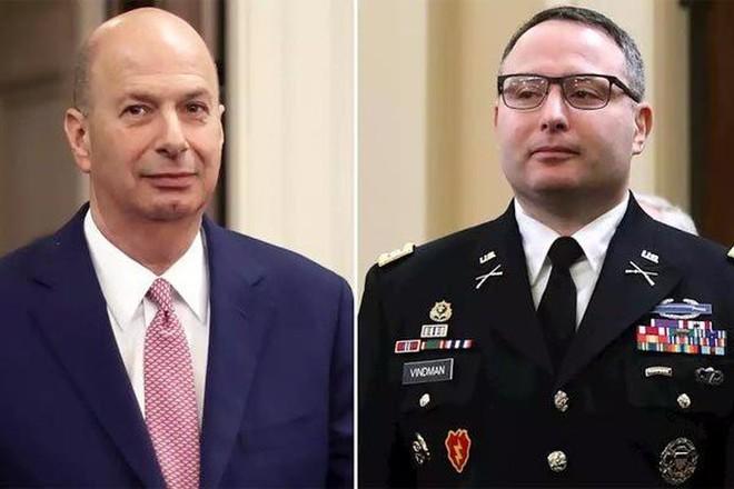 Tổng thống Mỹ sa thải 2 quan chức làm nhân chứng tham gia luận tội