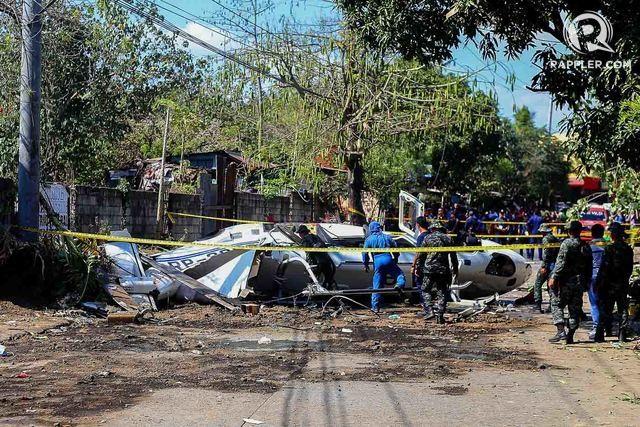 Cảnh sát trưởng quốc gia Philippines sống sót sau vụ rơi trực thăng