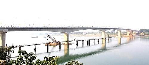 Công trình Cầu Đồng Quang kết nối Hà Nội - Thanh Thủy