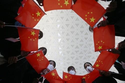 Đội y tế Vân Nam trước khi khởi hành rời Vũ Hán hôm 17-3