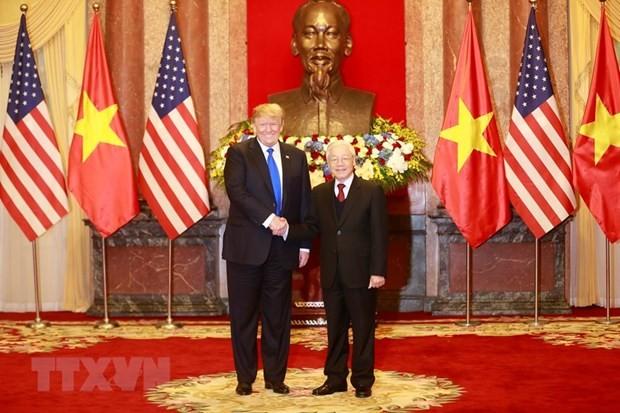 Lãnh đạo Việt Nam-Hoa Kỳ trao đổi thư, điện mừng nhân kỷ niệm 25 năm thiết lập quan hệ ngoại giao