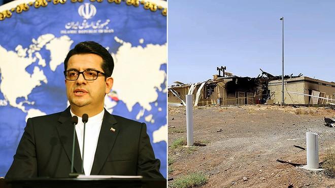 Iran cảnh báo 'hậu quả với bất cứ nước nào' liên quan đến sự cố bí ẩn tại cơ sở hạt nhân Natanz