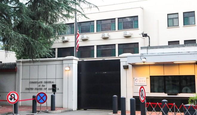 Sau 35 năm, cờ Mỹ hạ lần cuối tại lãnh sự quán ở Thành Đô