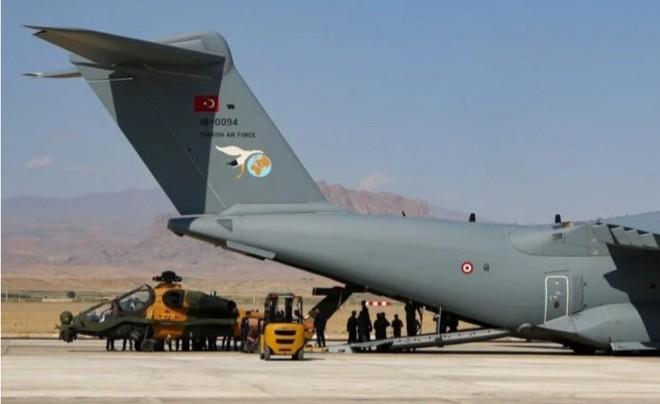 Thổ Nhĩ Kỳ điều trực thăng tấn công T129 đến Azerbaijan