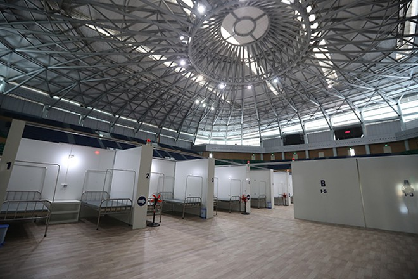 Bệnh viện dã chiến được Tập đoàn Sun Group bàn giao cho Đà Nẵng