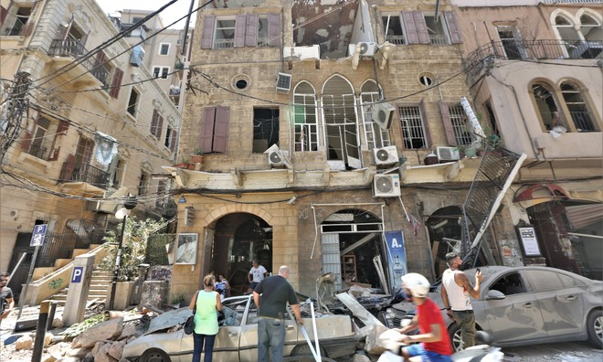 Beirut: 2.750 tấn ammonium nitrate phát nổ có nguồn gốc từ đâu?
