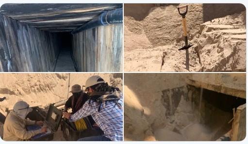Mỹ phát hiện đường hầm tinh vi nhất lịch sử ở biên giới Arizona-Mexico