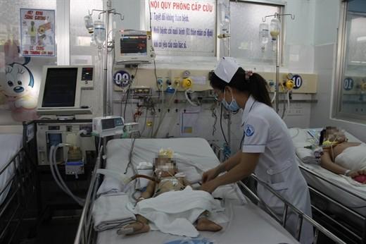 Cảnh báo trẻ mắc viêm não Nhật Bản do không được tiêm vaccine