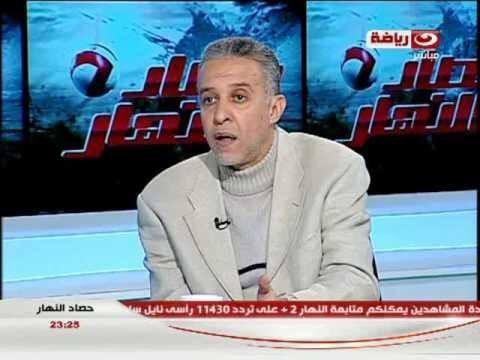 Bình luận viên thể thao Ai Cập Abdel Rahim Mohamed