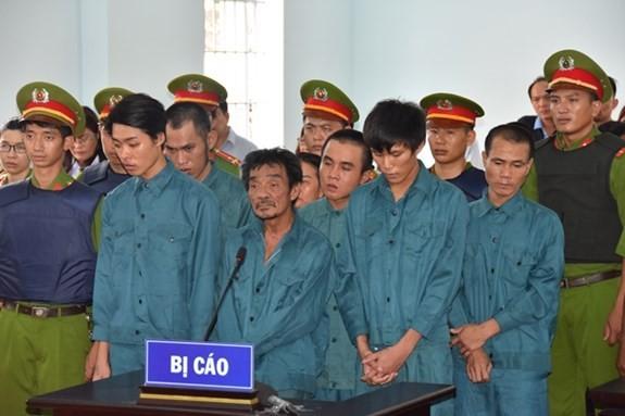 Xét xử 7 đối tượng kích động gây rối tại UBND tỉnh Bình Thuận