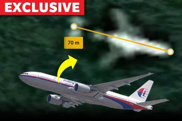 Hình ảnh trên google map được cho là của máy bay MH370