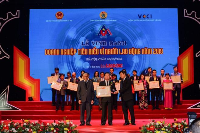 """Vedan Việt Nam được vinh danh """"Doanh nghiệp vì người lao động"""" năm 2018"""