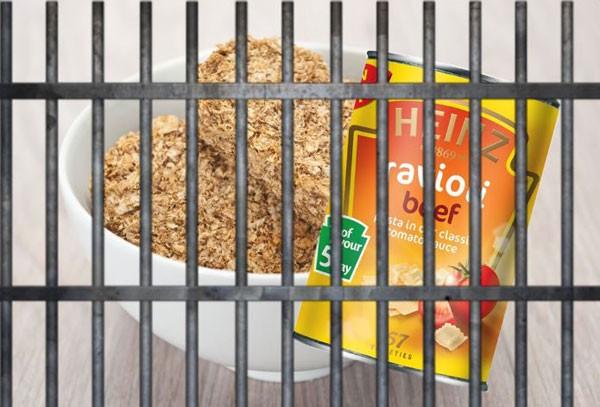 """Những món trong bữa ăn"""" của tên trộm"""