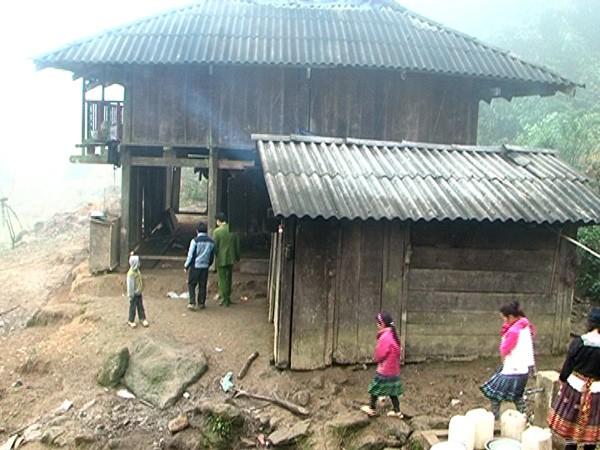Ngôi nhà nơi Châu A Vàng sinh sống cùng 3 người vợ và 6 đứa con trước khi án mạng xảy ra