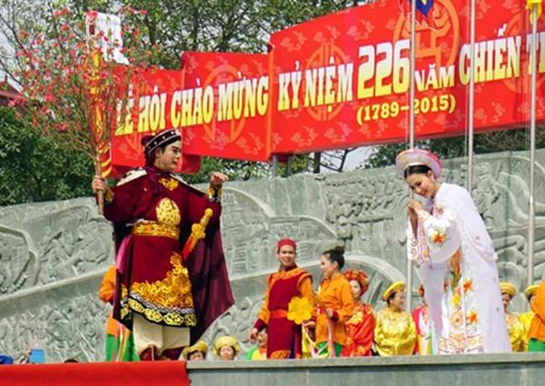 Tưng bừng lễ hội truyền thống kỷ niệm 226 năm chiến thắng Ngọc Hồi- Đống Đa