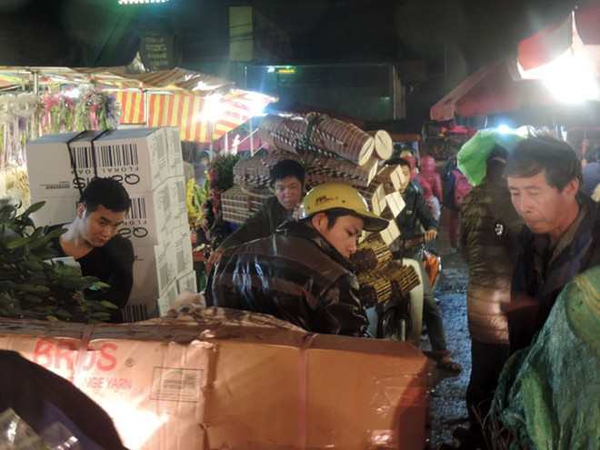 Chợ hoa Quảng Bá tấp nập trước ngày 8-3 ảnh 3