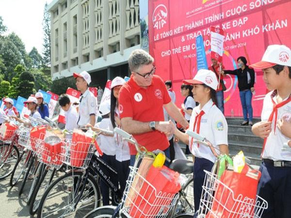 Bảo hiểm Nhân thọ AIA Việt Nam tăng trưởng mạnh ảnh 1