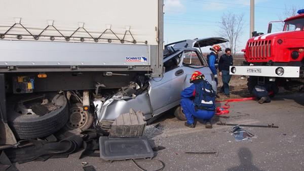 Hiện trường vụ tai nạn giao thông thảm khốc ở Nga khiến 3 người Việt Nam thiệt mạng