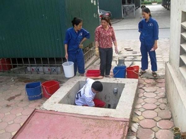 Đã khắc phục sự cố mất nước sinh hoạt ảnh 1