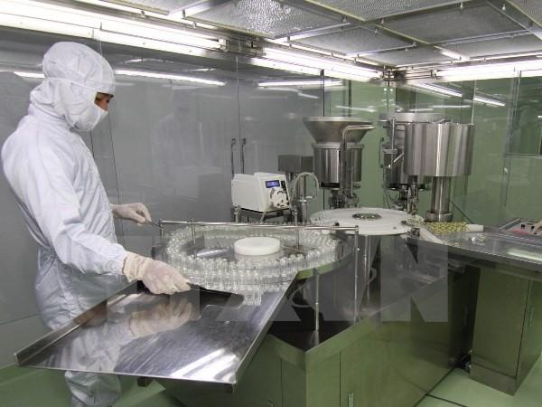 Việt Nam hiện có 4 nhà máy sản xuất vắcxin trong nước, đã sản xuất được 12 loại vắcxin
