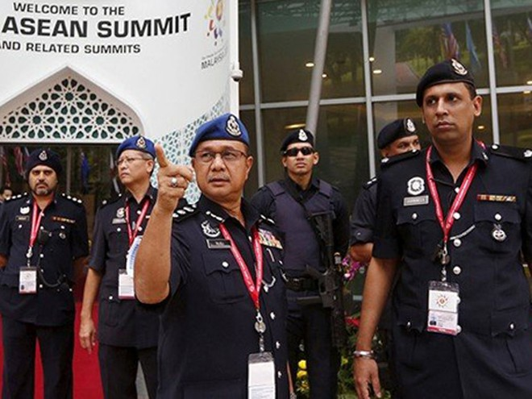 Lực lượng cảnh sát Malaysia được điều động trước thềm Hội nghị thượng đỉnh ASEAN 2015 ,