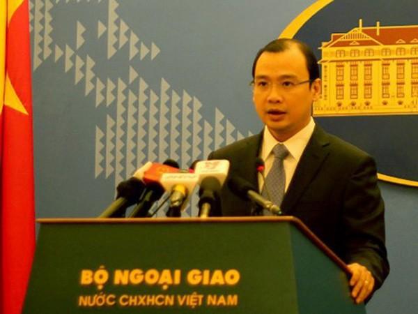 Audio 13-12-2015: Việt Nam phản đối hành động của Đài Loan trên đảo Ba Bình ảnh 1
