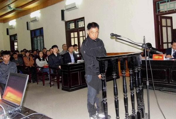 Bị cáo Lee Jae Myeong