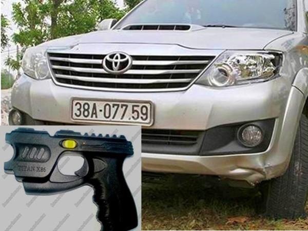 Audio 28-12-2015: Giám đốc doanh nghiệp rút súng dọa dân sau khi gây tai nạn giao thông ảnh 1