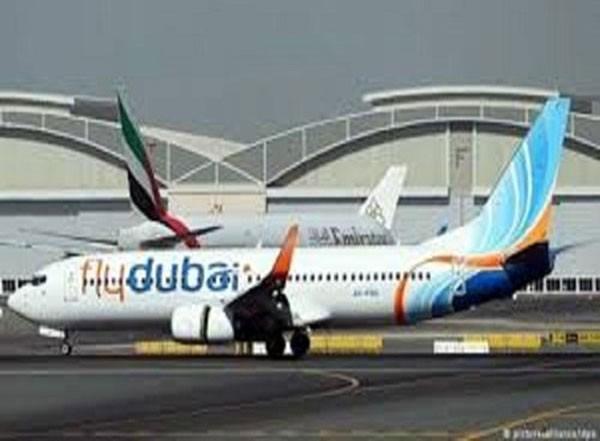 Một máy bay của hãng FlyDubai.