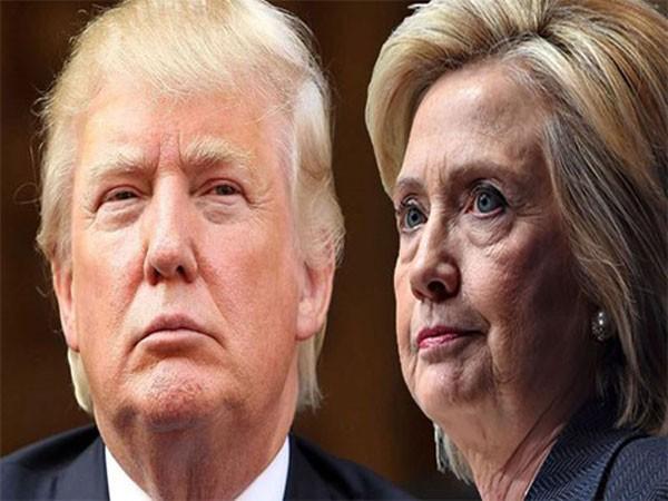 Hai ứng cử viên tổng thống Mỹ - Donald Trump lẫn bà Hillary Clinton.