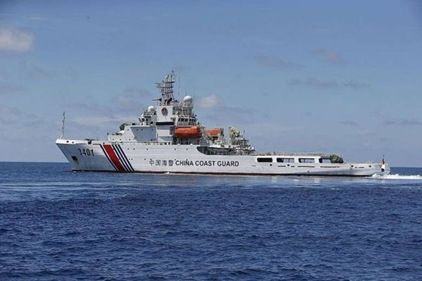 Một tàu hải cảnh Trung Quốc đã tìm cách ngăn cản lực lượng chức năng Indonesia bắt giữ tàu cá Trung Quốc