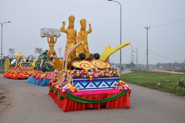 Lễ hội tôn vinh các giá trị văn hóa của vùng đất Tổ ảnh 1